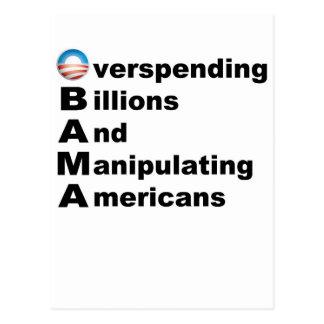 Acrostic de Obama Postales