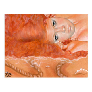 Acroyali Greek Mermaid Postcard