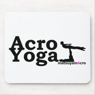 AcroYoga simple logo/akuroyogashinpururogo Mouse Pad