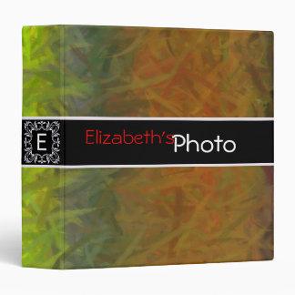 Acrylic Abstract Album Photo Binder