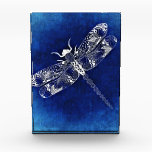 """Acrylic award block<br><div class=""""desc"""">Dragonfly acrylic block</div>"""