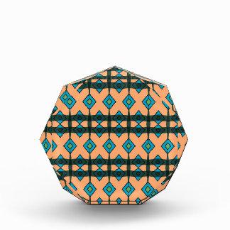 Acrylic Award with Colorful Southwestern Design
