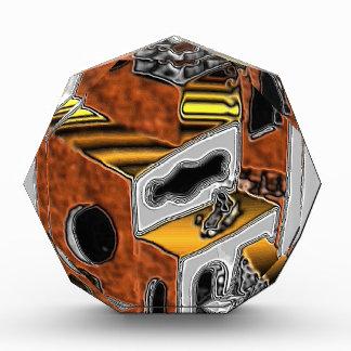 Acrylic Awards with Sci-Fi Art