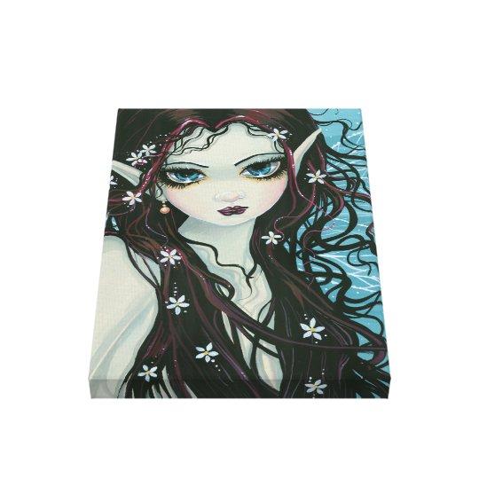 Acrylic Big Eye Gallery Wrapped Canvas Print