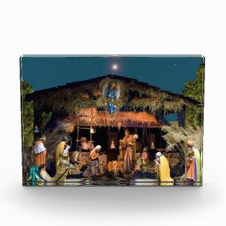 Acrylic Block Nativity Scene
