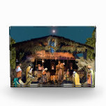 Acrylic Block Nativity Scene Award
