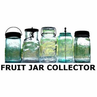 Acrylic Cutout of Fruit Jar Vintage Mason Jars