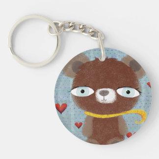 Acrylic Key Chain Teddy bear