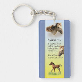 Acrylic Keychain Jeremiah Bible Scripture