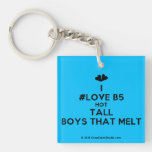 [Two hearts] i #love b5 hot tall boys that melt  Acrylic Keychains
