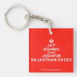 [Crown] jat' bishnoi chadi jodhpur rajasthan-342312  Acrylic Keychains
