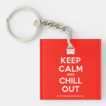 [Campervan] keep calm and chill out  Acrylic Keychains