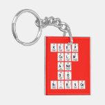 KEEP CALM AND DO SCIENCE  Acrylic Keychains