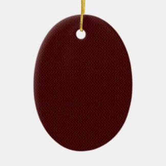 Acrylic ornament brown Edition