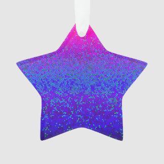 Acrylic Ornament Glitter Star Dust