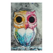 Acrylic Owl Stationery