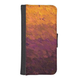 Acrylic paint billetera para teléfono