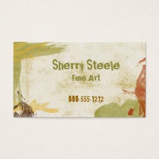 Acrylic Paint Business Card