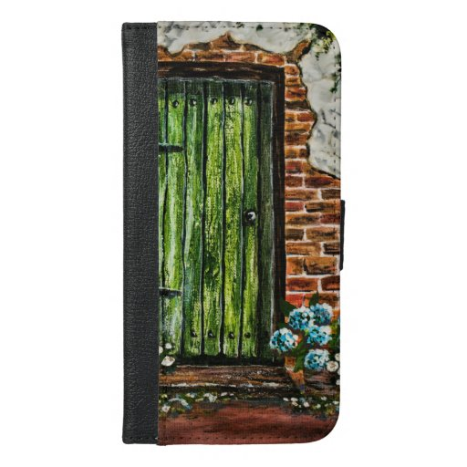 Acrylic painting by Sian Butler  iPhone 6/6s Plus Wallet Case