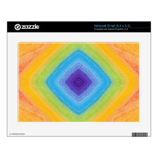 Acrylic Rainbow Diamond Pattern Decals For Netbooks