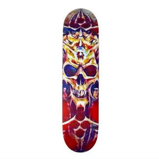 Acrylic Reaper Skull Element Custom Pro Park Board