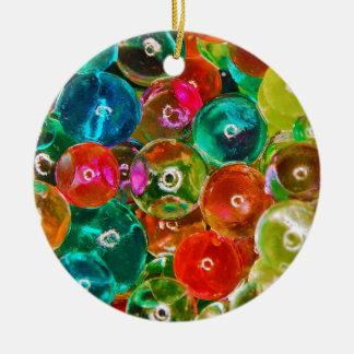 Acrylic Sodium Salt Polymer Sodium Polyacrylate Double-Sided Ceramic Round Christmas Ornament