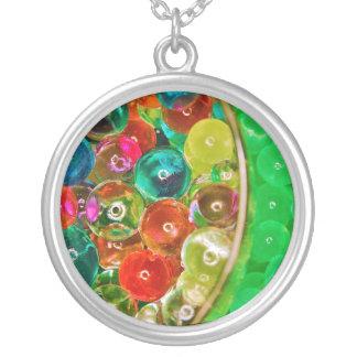 Acrylic Sodium Salt Polymer Sodium Polyacrylate Silver Plated Necklace