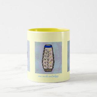 Acrylic Vase Two-Tone Coffee Mug