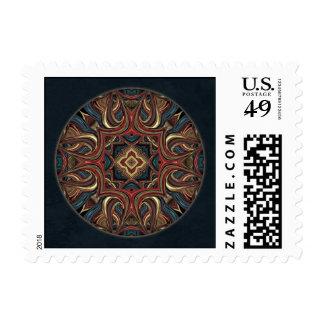 Acrylic Vision Mandala Postage