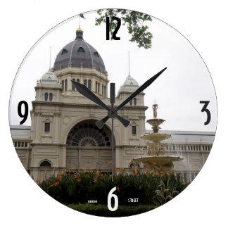 "Acrylic Wall Clock Large 10.75"""