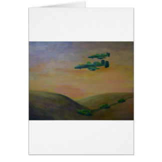 acrylic warthog3 jpeg card