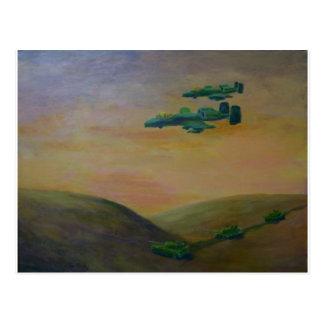 acrylic warthog3 jpeg postcard