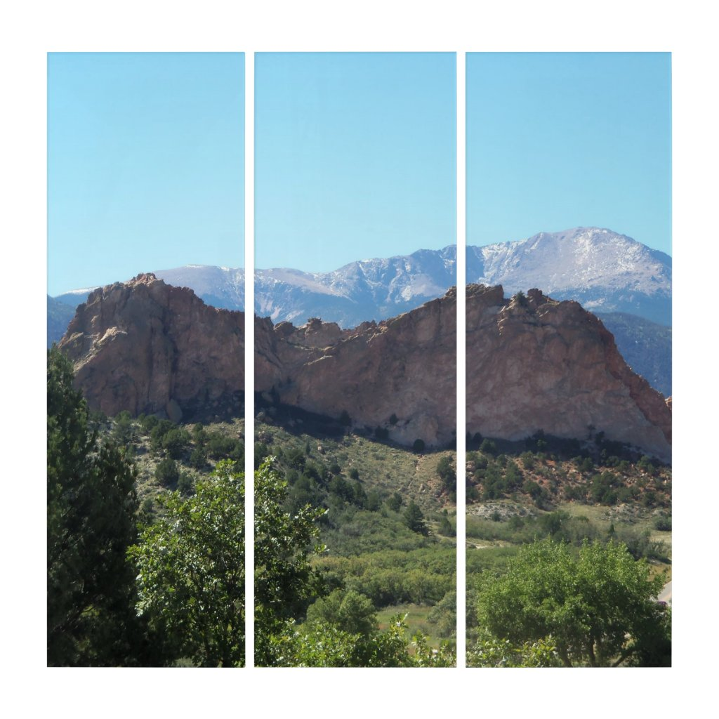 AcryliPrint Triptych Wall Art