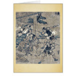 Act12 Kanadehon Chushingura by Katsushika,Hokusai Card
