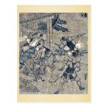 Act12 Kanadehon Chushingura by Katsushika,Hokusai Postcards