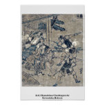 Act12 Kanadehon Chushingura by Katsushika,Hokusai Posters