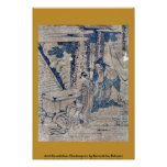 Act1 Kanadehon Chushingura by Katsushika,Hokusai Poster