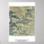 Act2 Kanadehon Chushingura por Katsushika, Hokusai Posters