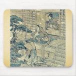 Act2 Kanadehon Chushingura por Katsushika, Hokusai Tapete De Raton