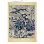 Act5 Kanadehon Chushingura by Katsushika,Hokusai Card