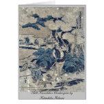 Act5 Kanadehon Chushingura by Katsushika,Hokusai Greeting Cards