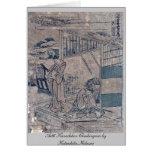 Act6 Kanadehon Chushingura by Katsushika,Hokusai Cards
