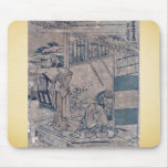 Act6 Kanadehon Chushingura by Katsushika,Hokusai Mouse Pad