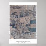Act6 Kanadehon Chushingura by Katsushika,Hokusai Posters