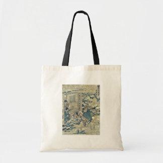 Act9 Kanadehon Chushingura por Katsushika, Hokusai Bolsas