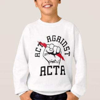 Act against ACTA Sweatshirt