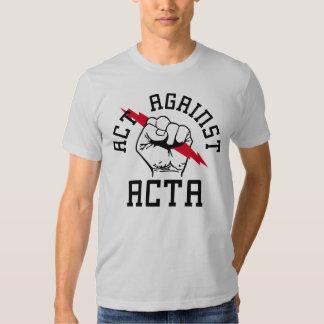 Act against ACTA T-Shirt