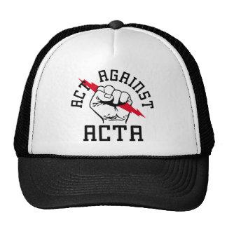 Act against ACTA Trucker Hat