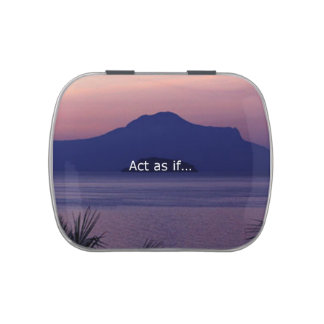 Act as if.... candy tin