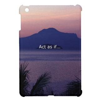 Act as if iPad mini case